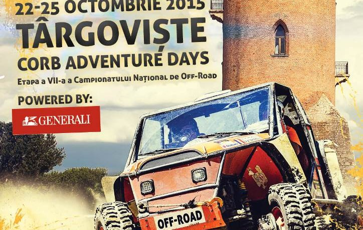 Program CORB 44 Adventure Days 22-25 octombrie, Targoviste