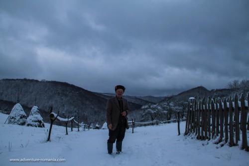 Locuitor din comuna Batrana, decembrie 2014